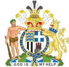 Coat-of-arms for HRH Prince Philip, Duke of Edinburgh (born Prince Philip of Greece and Denmark)