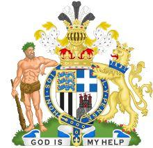 Coat-of-arms for HRH Prince Philip, Duke of Edinburgh (born Prince Philip of Greece and Denmark)