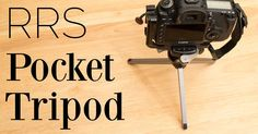 Dan takes a look at the Really Right Stuff tripod. A high capacity, yet surprisingly pocketable tabletop tripod that's perfect for travel. Photography Reviews, Travel Kits, Photo Accessories, Ham Radio, Tripod, Clamp, Safari, Writing, Being A Writer