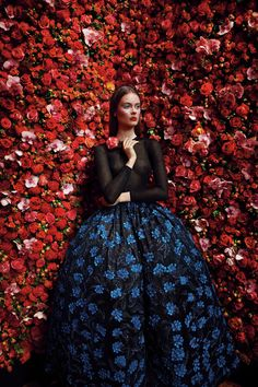 Christian Dior. Photo: Patrick Demarchelier. #ChristianDior #inspiration #photoshoot