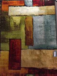 Striking Impressionist rug from Flair Rugs - Available in store now! Rugs On Carpet, Carpets, Impressionist, Store, Painting, Farmhouse Rugs, Rugs, Tent, Types Of Rugs