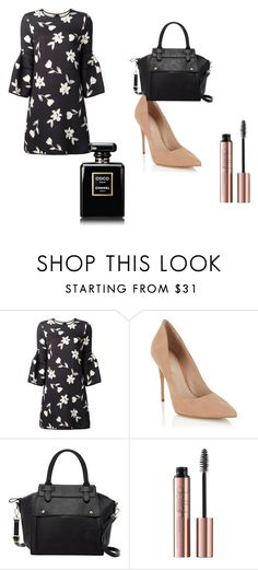 """""""Untitled #493"""" by asiannaye on Polyvore featuring Carolina Herrera, Lipsy and Pink Haley"""