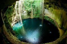 En la Península de Yucatán abundan los cenotes y es una de las experiencias más emocionantes, que sólo puede disfrutarse en esta parte del mundo, es bucear y explorar estos fabulosos y misteriosos cenotes y sus ríos ocultos. Foto: blog.mexicodestinos.com
