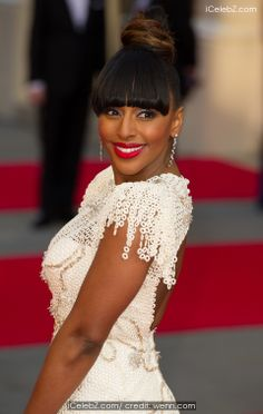 Alexandra Burke Olivier Awards 2014 held at the Royal Opera House