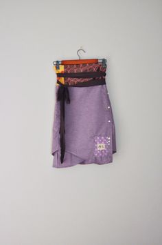 Upcycled Obi Style BeckyRose Wrap Skirt in by RebirthRecycling, $55.00