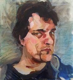 Plexi-Portrait Layer 3    Can't wait for layer 4 next week!     www.ebartstudio.nl