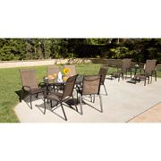 Discount Online Shopping: Steel Sling 12-Piece Patio Dining Set & Leisure Set Value Bundle