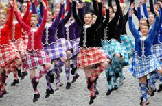 Scottish Highland dancers performed for the Royal visit in Edinburgh, Scotland @ Holyrood Palace. www.scotsman.com/...