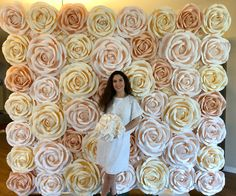 I'm so happy to introduce my Newest, Biggest and Luxurious FLOWERYou can find Boho wedding and more on our website.I'm so happy to introduce . Flower Wall Backdrop, Wall Backdrops, Floral Backdrop, Photo Booth Backdrop, Flower Wall Wedding, Boho Wedding, Floral Wedding, Blush Flowers, Big Flowers