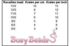 Rocailles maten - Busy Beads