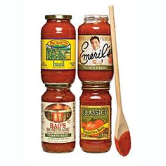 Cooking Light's Guide to the Best Products at the Supermarket ~   Taste Test: Store-Bought Pasta Sauce