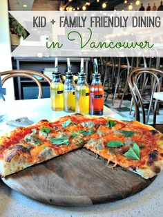 Great family-friendly dining options abound in Vancouver! This list serves up some of the best kid-friendly restaurant options around the city. (via thetravellingmom.ca)