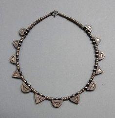 171adb75602e Ethiopian silver telsum amulets ethnic necklace, Oromo, Ethiopia, ethnic  necklace, tribal jewelry