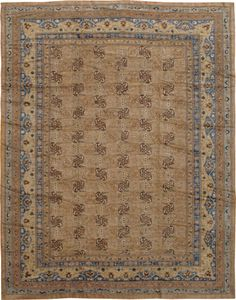 Antique Samarkand Carpet, No. 15800 - from Galerie Shabab