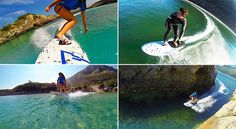 Spanish Designers Create Electric Surfboard That Doesn't Need Waves