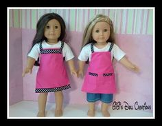 GiGi's Doll Creations: Link for free PDF doll apron pattern