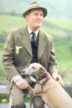 "Siegfried Farnon (Robert Hardy) from the series ""All Creatures Great and Small""  Ok, not entirely fictional, based on a real person--but a wonderful character."