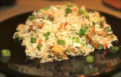 Chicken Fried Rice Healthy chicken fried rice.