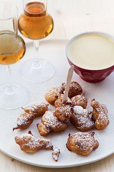 Frittelle di ricotta con zabaione di Moscato di Sicilia | Flickr