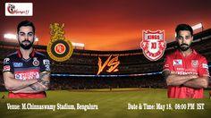 IPL 2016: Royal Challenger Vs Kings XI Punjab  #RCBvKXIP #KXIPvRCB #VIVOIPL #IPL #PlayBold