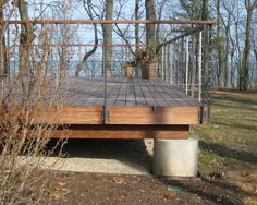 Stainless Steel Cable Deck Railing Design, Pictures, Remodel, Decor and Ideas - page 3