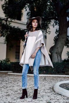Ankle Boots kombinieren: Mit gekrempelter Jeans sieht's lässig aus