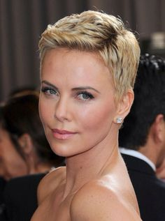The perfect pixie. Charlize Theron