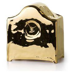 Modern mantel clock by Kiki van Eijk.