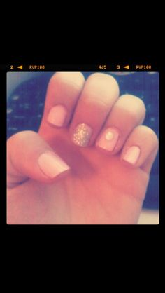 Pink and glitter with a gem
