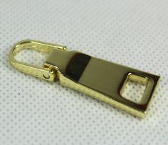 Gold color 5# zipper puller High class metal zipper puller