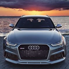 """Kik:SoLeimanRT on Instagram: """"Perfect sunset? Audi RS6 Avant by @auditography. Follow @auditography for the best Audi pics on Instagram"""""""