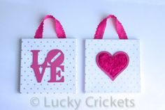 Hot Pink Nursery Pink and Gray Decor Gray Pink by LuckyCrickets $30.00 USD