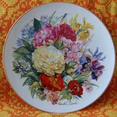 Hutschenreuther Ursula Band Plate 1995 - Collectors` Plates