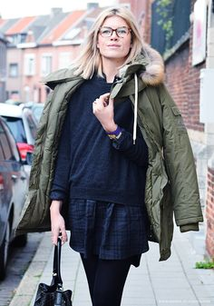 Mirror of Fashion: OUTFIT. PARKA PERFECT