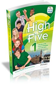 High Five Student Book 1 High Five, English Lessons, Learning Resources, Pre School, Esl, Book 1, English Language, Student, Baseball Cards