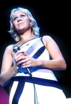 .Agnetha on the 1979 tour
