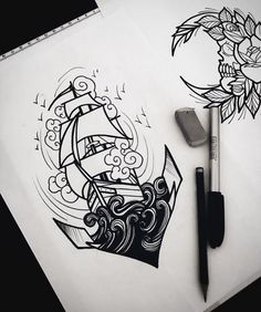 We have compiled the world's most popular tattoo designs for you. Here are the 30 most admired tattoos in the world! Art Drawings Sketches, Tattoo Sketches, Tattoo Drawings, Body Art Tattoos, Sleeve Tattoos, Cool Tattoos, Tattoo Designs, Most Popular Tattoos, Ink Art
