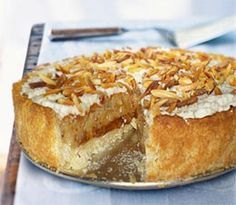 Apple Almond Tart ~ Try something a little different than your average ...