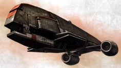 Gozanti-class Armed Freighter