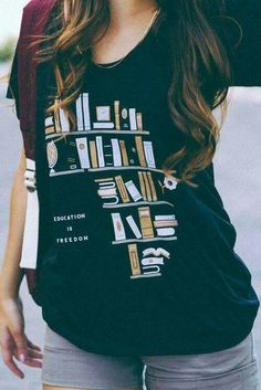 #Remera #Books #Libros #Educación #Education #Freedom #libertad