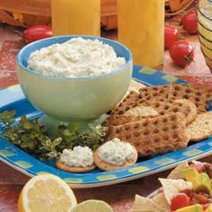 Herbed Garlic Cheese Spread