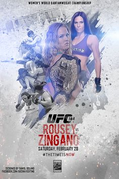 UFC 184 Unofficial Poster on Behance