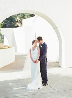 Greek inspired wedding: http://www.stylemepretty.com/2016/09/29/chic-wine-country-wedding-with-pops-of-pink/ Photography: Jesse Leake - http://www.jesseleake.com/