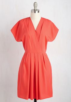 I Come in Pleats Dress, @ModCloth