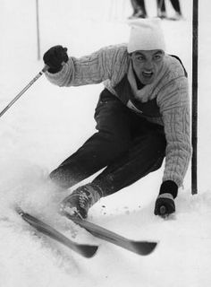 "Sailer, Anton (""Toni"") * Kitzbühel (Tirol) † I … - Sport News Ski Vintage, Vintage Ski Posters, Vintage Sport, Innsbruck, World Cup Skiing, Anton, 9 Month Old Baby, Ski Mountain, Ski Racing"