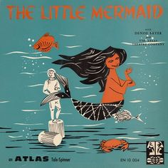 The Little Mermaid Long Playing Record Album
