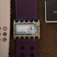"Mistura Watches, handcrafted wood and 100% leather Mistura Time Watches, handcrafted with South American wood and 100% genuine leather. Environmentally friendly product. It takes up to 85 hrs to creat each time piece. Warranty through www.mistura.com MAKE ME AN OFFER! ""Liquidation mode"" #mistura Mistura Jewelry"