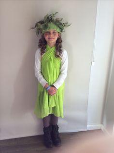 Snugglepot and Cuddlepie Australian themed book week costume.
