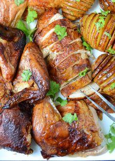 chipotle beer can chicken   Garlic + Zest