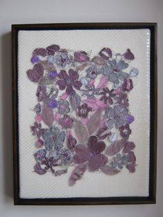 Hey, I found this really awesome Etsy listing at http://www.etsy.com/listing/111884938/purple-garden-a-textile-art-piece-by